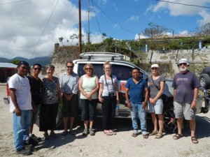 A Timor Adventure group visiting Venilale 'The Deck Hands' mah-jong group raised $530 for a midwifery scholarship. The money was raised by participants voluntarily contributing small change into a tin. They were amazed at