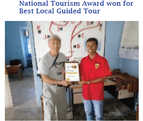 National Tourism Award