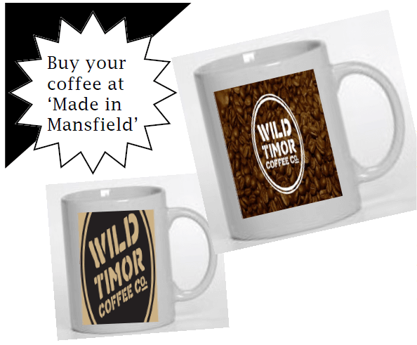 Buy your coffee at Made in Mansfield