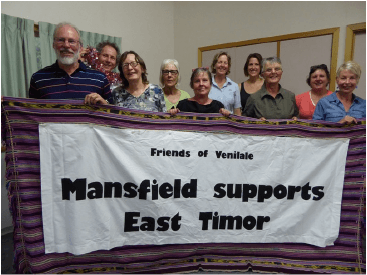 Mansfield Support East Timor