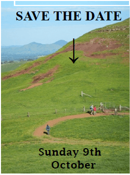 You can do 8, 10 or the full 18 km. A rare opportunity with all permissions obtained from local farmers, stiles in place and a delicious BBQ lunch donated by Mansfield Rotary. All details on Page 2