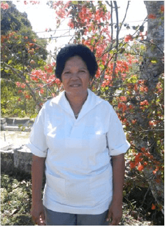 Georgina Correia is study-ing nursing at Baucau Uni-versity. She has been work-ing in Venilale as a nutri-tion expert since 1992.