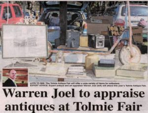 The Tolmie Antique Fair